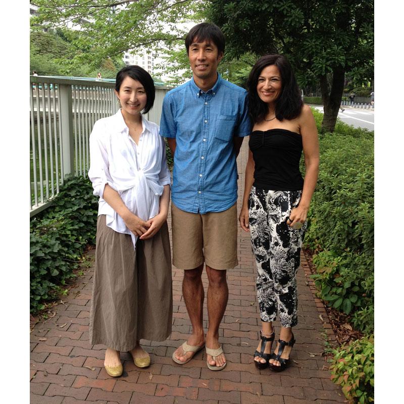 HASUNA白木さん、パタゴニア辻井さんと。 白木さんに直接お会いしたのは実はこの日が初めて。ずっと会いたかった方なのでやっと実現できてうれしかったです!