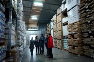 スエナガサトシさんの工場は、再建され、操業中。