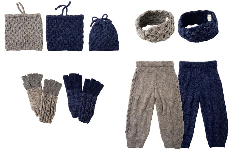 手編みケーブルシリーズ