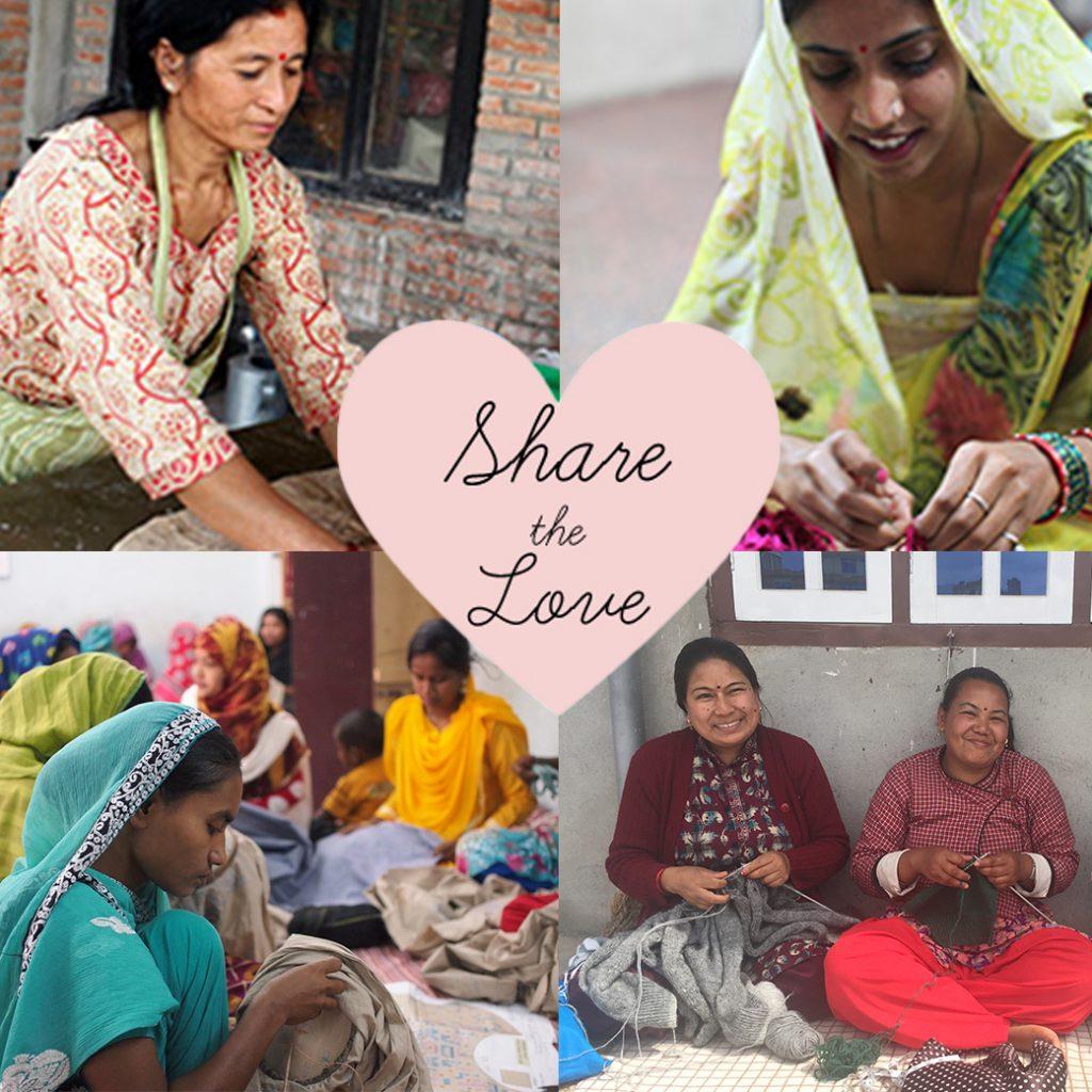 Share the Love フェアトレード商品のお買いもので応援してください!